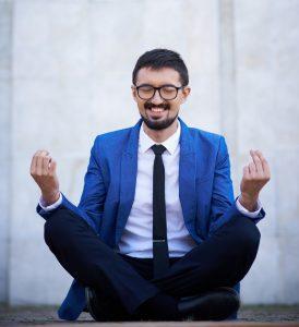 Entspannung und Erholung durch Meditation
