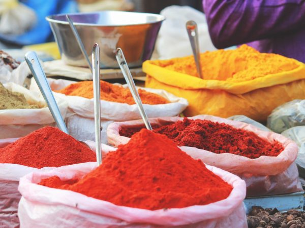 Scharffstoffe im Curry