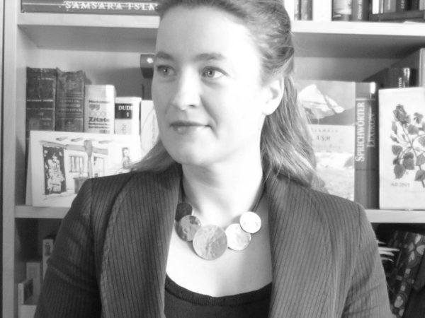 Die Dozentin Sonja Maric beim Interview