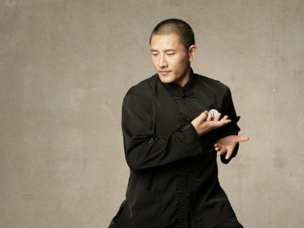 Tulku Lobsang Rinpoche beim Lu Jong