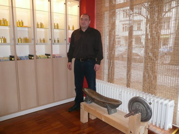 Aleksej Zasuhin im Umahaus Berlin